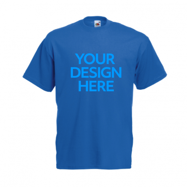 Fruit-Of-The-Loom-Valueweight-T-Shirt-Blue
