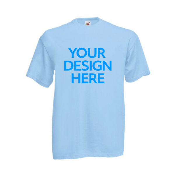 Fruit-Of-The-Loom-Valueweight-T-Shirt-Light-Blue