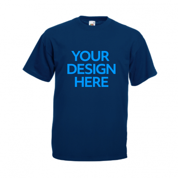 Fruit-Of-The-Loom-Valueweight-T-Shirt-Navy