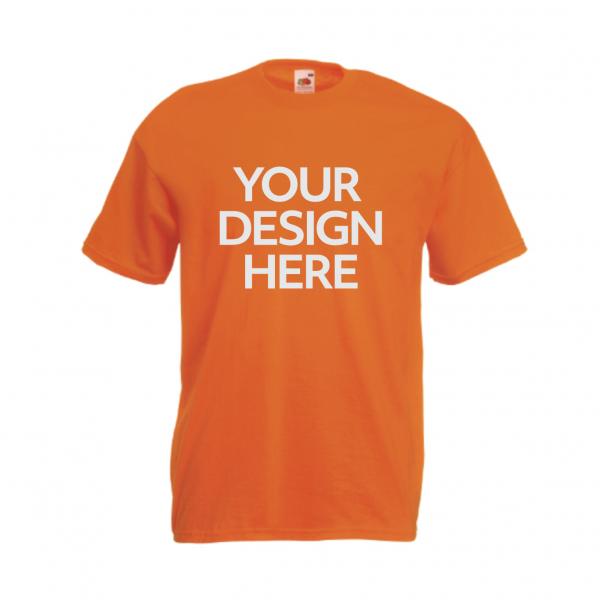 Fruit-Of-The-Loom-Valueweight-T-Shirt-Orange