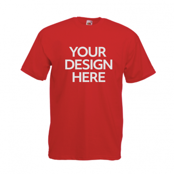 Fruit-Of-The-Loom-Valueweight-T-Shirt-Red