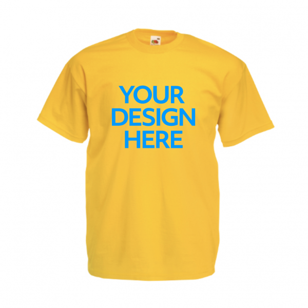 Fruit-Of-The-Loom-Valueweight-T-Shirt-Yellow